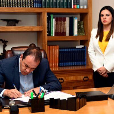Denuncian a la recién nombrada secretaria de Hacienda de Morelos por tráfico de influencias