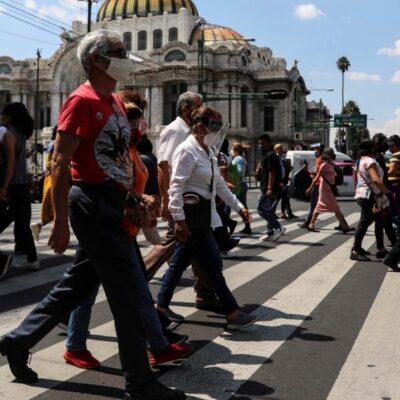 COVID-19 EN MÉXICO: Cifra de muertes aumenta a 63 mil 819; se estiman 43 mil 610 contagios activos