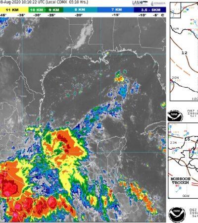 PRONÓSTICO DEL CLIMA: Nublado con probabilidades de lluvia en la tarde en Quintana Roo