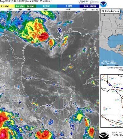 PRONÓSTICO DEL CLIMA: Demasiado calor con probabilidades de lluvia en Quintana Roo