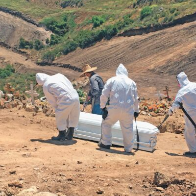 PANDEMIA EN MÉXICO: Suman 60 mil 800 las muertes por COVID-19; hay 563 mil 705 casos confirmados