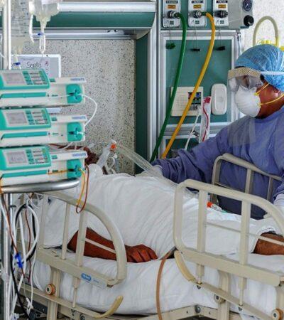 Pese a declive, México reporta 6 mil 345 nuevos contagios y 635 decesos por COVID-19 en las últimas 24 horas
