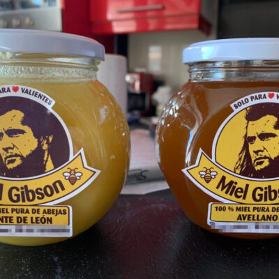'Miel Gibson' pide al actor permitir el uso de su imagen como William Wallace para su emprendimiento