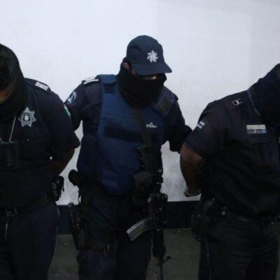 Detienen a siete policías en Veracruz por nexos con el 'Grupo Sombra' del Cártel del Golfo