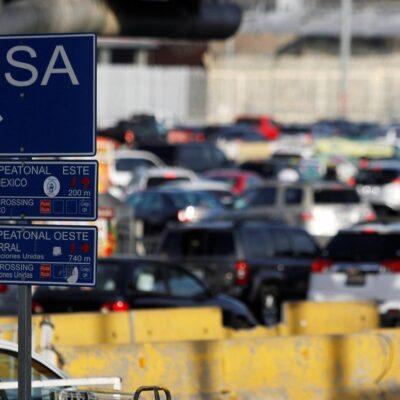 México y Estados Unidos prolongan cierre parcial de la frontera hasta el 21 de septiembre