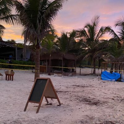 Muere turista fulminado por un rayo en una playa de Tulum