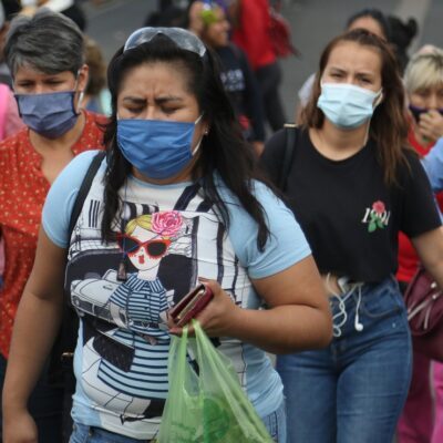 SEIS MESES DE EPIDEMIA EN MÉXICO: Del primer caso confirmado hay a la fecha 585 mil 738 contagios y 63 mil 146 muertes por COVID-19
