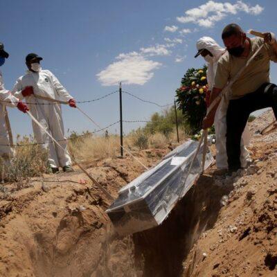 RECTIFICAN CIFRA DE MUERTES POR COVID-19: Hubo 518 nuevos decesos; llegan a 62 mil 594