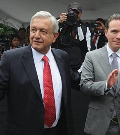 Rechaza Manuel Velasco haber entregado recursos al movimiento encabezado por AMLO