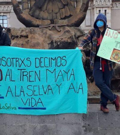 AMLO pide a ONG's aclarar financiamiento extranjero contra Tren Maya