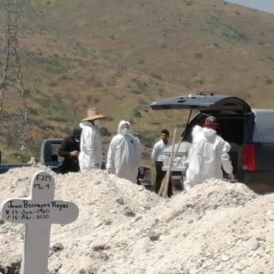 A PUNTO DE LA CATÁSTROFE: México registra 59 mil 610 muertes por COVID-19