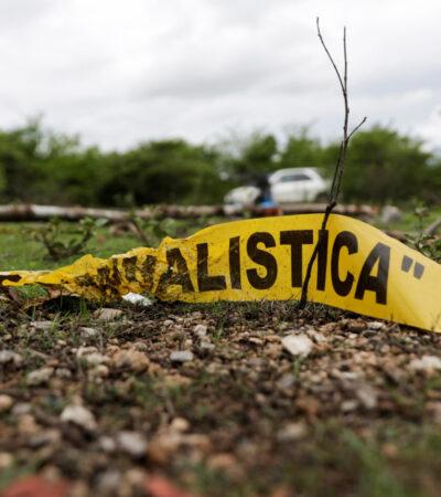 México registra ligero aumento en homicidios dolosos y baja en feminicidios, según Durazo