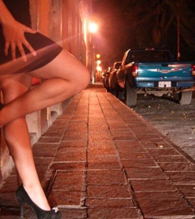 Trabajadoras sexuales en Mérida se amparan y Policía local no podrá detenerlas