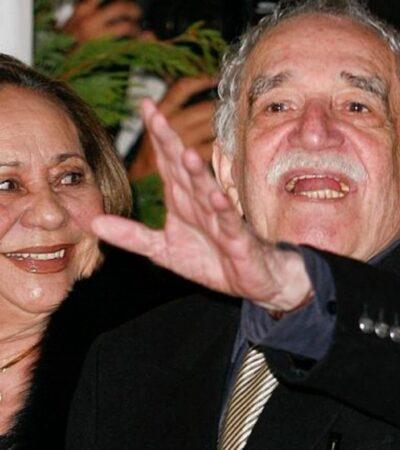 Murió Mercedes Barcha, esposa y musa de Gabriel García Márquez