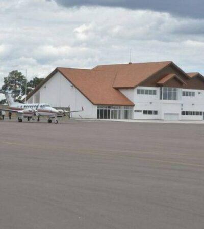 Preparan inauguración del Aeropuerto Internacional de Creel a finales de marzo de 2021