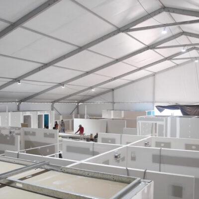 Siguen habilitando más espacios en Quintana Roo para atender pacientes con COVID-19