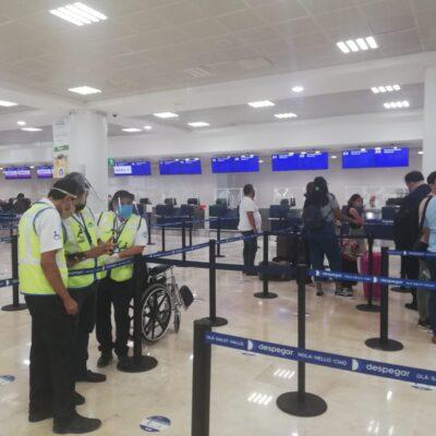 Tiene el Aeropuerto Internacional de Cancún conectividad aérea con 18 ciudades de EU
