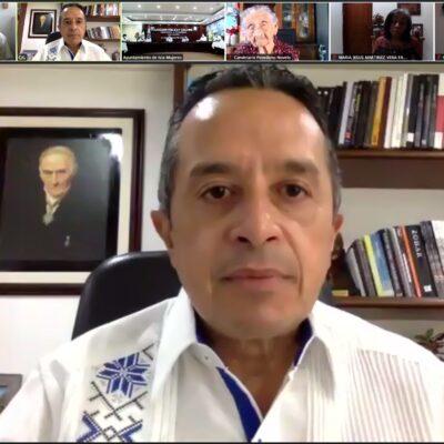 """""""NO TENEMOS LA CERTEZA DE SU ALCANCE"""": Plantearán gobernadores a AMLO sus dudas sobre la vacuna contra COVID-19"""