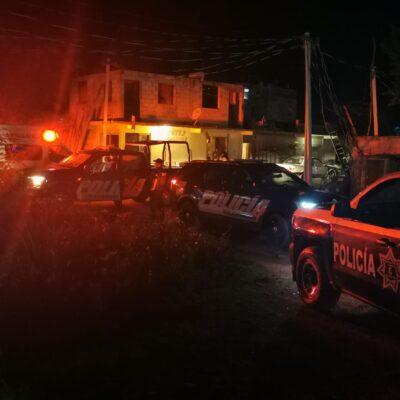 VIOLENCIA COTIDIANA EN IN HOUSE: Ejecutan a balazos a un hombre en fraccionamiento irregular de Playa del Carmen