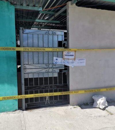Detienen a sujeto y decomisan varias dosis de droga durante cateo en Playa del Carmen