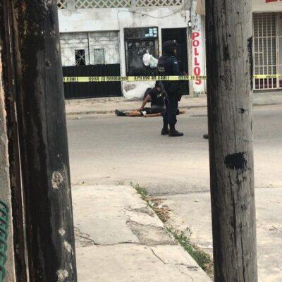 ACTUALIZACIÓN | SONARON ONCE DISPAROS: Ataque de sicarios deja un joven muerto en la Región 70 de Cancún