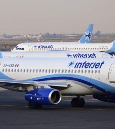 Anuncia Interjet vuelo diario Cancún-Monterrey