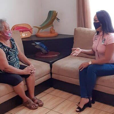 Atiende DIF municipal a ciudadanos durante la contingencia sanitaria en Puerto Morelos