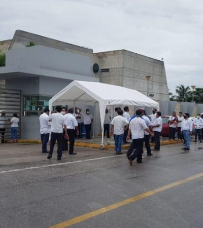 "Taxistas de Playa vuelven a protestar para que se implemente el programa ""Hoy no circula"""