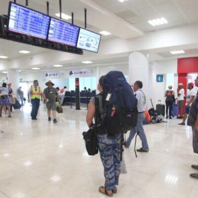 Supera el Aeropuerto Internacional de Cancún las 220 operaciones este sábado