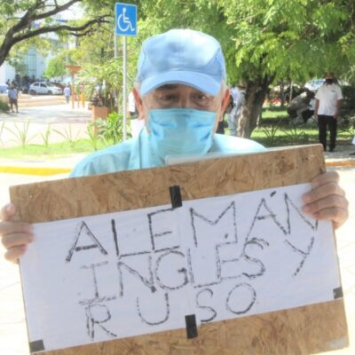 Guía de turistas pide ayuda para sobrevivir en Cancún