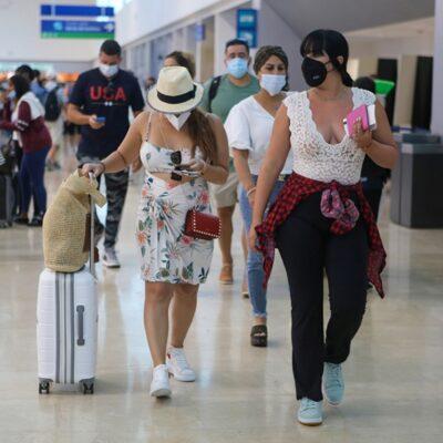Programan más de 200 vuelos nacionales e internacionales este fin de semana en el Aeropuerto Internacional de Cancún