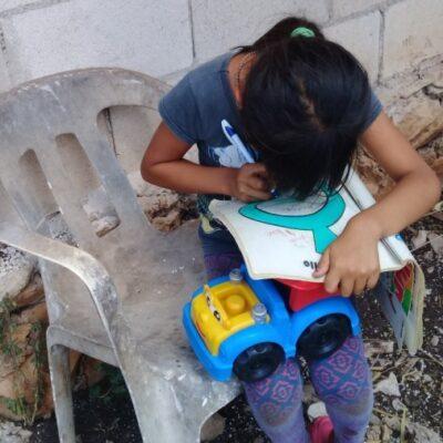 En Lázaro Cárdenas hay más de 4 mil alumnos que carecen de medios para tomar clases virtuales