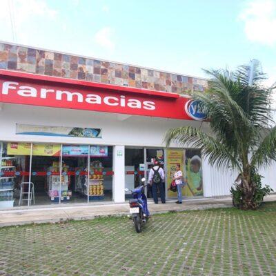 Incrementa el número de farmacias en municipios de la zona norte de QR