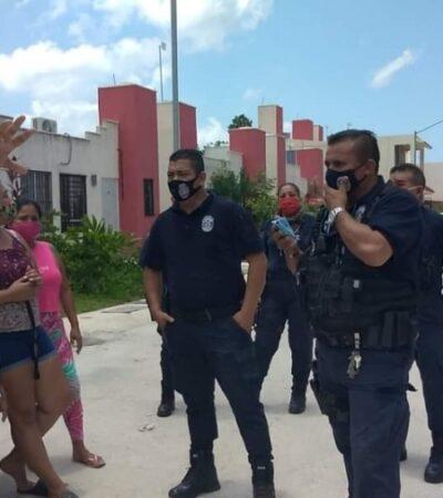 FGE y DIF atienden caso de maltrato contra un menor de edad, denunciado en Cozumel