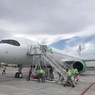 Aeropuerto Internacional de Cancún reportó casi 200 operaciones aéreas este viernes
