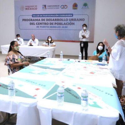 Realizan taller de participación ciudadana para incentivar el desarrollo sustentable de Puerto Morelos