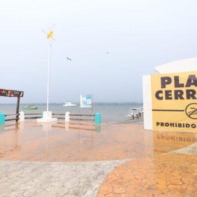 Reforzarán este fin de semana la vigilancia en los accesos a las playas de Puerto Morelos