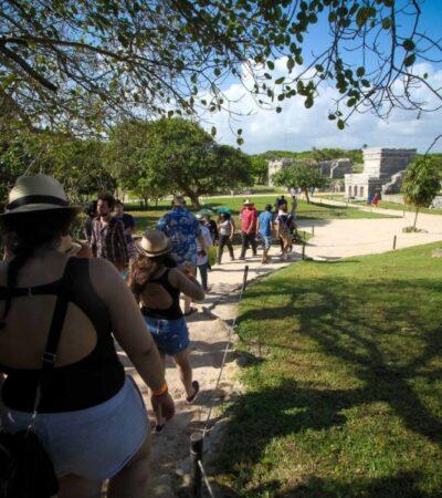 Zonas arqueológicas de Chichén Itzá, Tulum y Cobá son las más visitadas de México