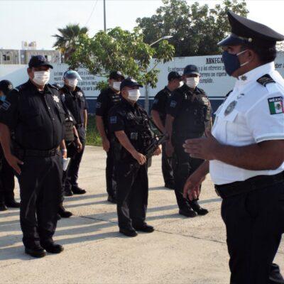 Rinden último pase de lista a policía solidarense caído por COVD-19
