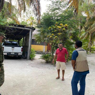 Se retiran militares sin evacuar Punta Allen