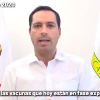 """""""SI LA GENTE NO COLABORA NO VAMOS A PODER ROMPER CADENA DE CONTAGIOS"""": Vila Dosal admite que evolución por COVID-19 continuaría hasta el próximo año"""