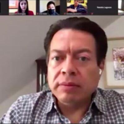 Convoca Mario Delgado a los morenistas a unir filas en defensa de la 4T, tras calificar como 'guerra sucia' los vídeo escándalos