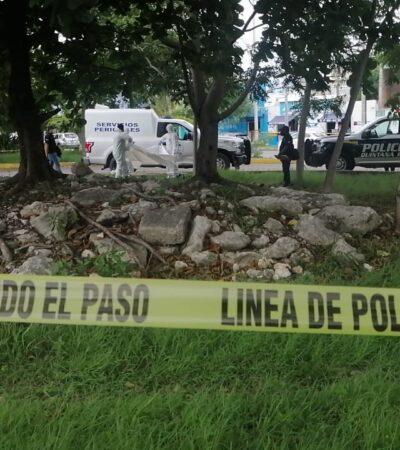 Indigente aparece muerto en la Región 221 de Cancún