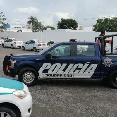 Logran taxistas liberación de compañeros que agredieron a turista en Playa del Carmen