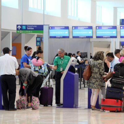 AGARRAN VUELO: Reporta aeropuerto de Cancún más de 600 operaciones el fin de semana