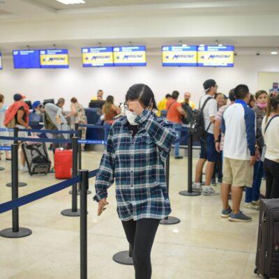 AVANZA LA REAPERTURA: Terminal 2 de aeropuerto de Cancún con más vuelos nacionales en jornada de 154 operaciones