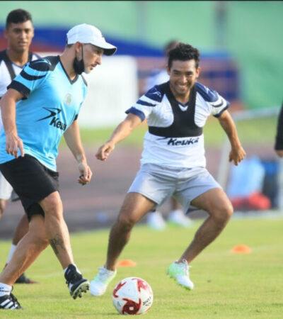 Cancún FC es un proyecto sólido, asegura el mediocampista Luciano Bocco