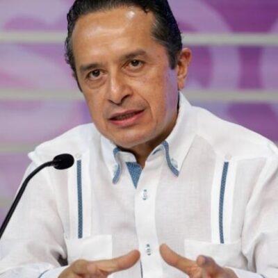 Se mantiene Carlos Joaquín dentro del top ten de gobernadores mejor evaluados, dice vocero