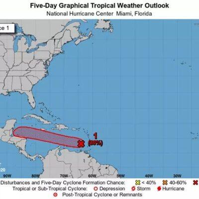 MONITOREO DE CICLONES: Vigilan en Quintana Roo condiciones climatológicas del Caribe
