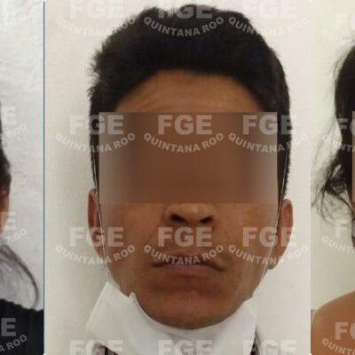 LOS ENGAÑABAN COMO LA XTABAY: Capturan en Cancún a tres personas implicadas en un secuestro; dos son mujeres